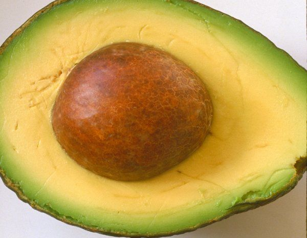 I love avocado.. esp. as guacamole... the green to yellow is fabtastic