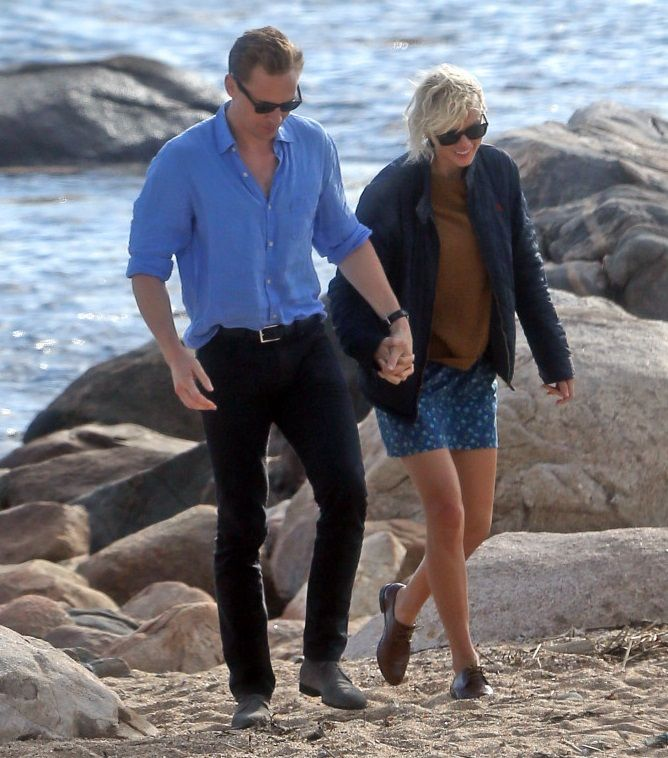 Blog de la Tele: [Fotos] Taylor Swift besando a su nuevo hombre: Tom Hiddleston