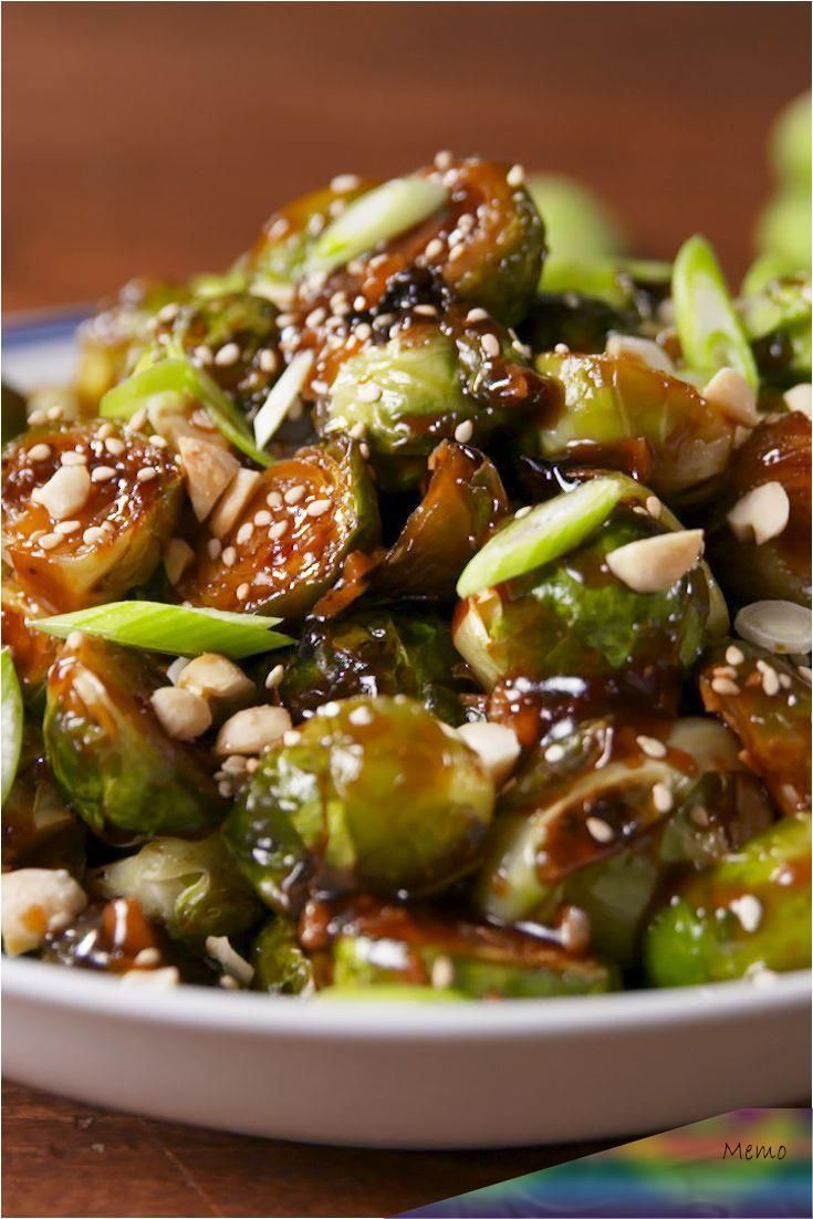 Even picky eaters can't say no to buffalo Brussels sprouts.