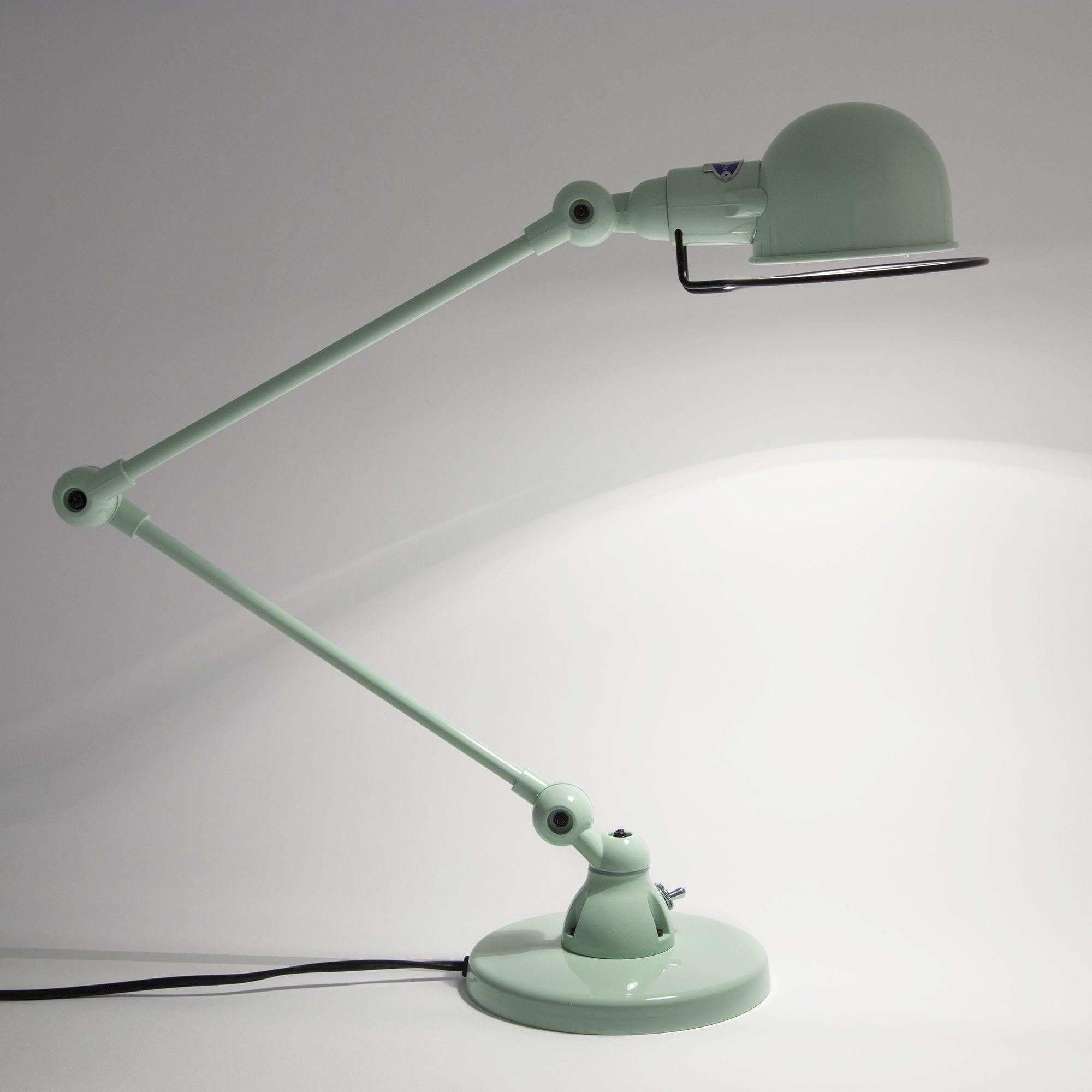 lampe a poser vert d'eau