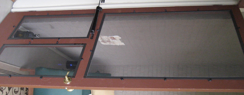 Restoring an old screen door - Restoring An Old Screen Door Vintage Screen Doors, Screens And Doors