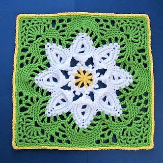 Signed With an Owl: Daisy Scrapghan Block