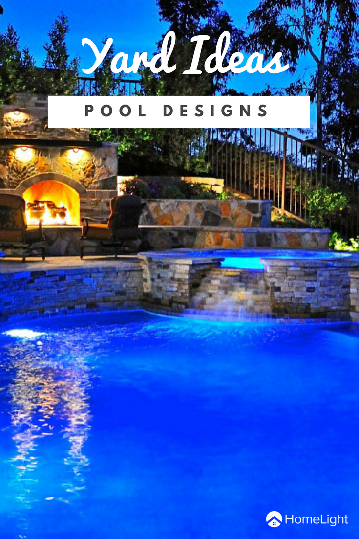 Backyard Designs With Pool If You Re Looking To Increase Your Curb Appeal Look Into Revamping Your Backyard And Addin Pool Backyard Pool Designs Pool Designs
