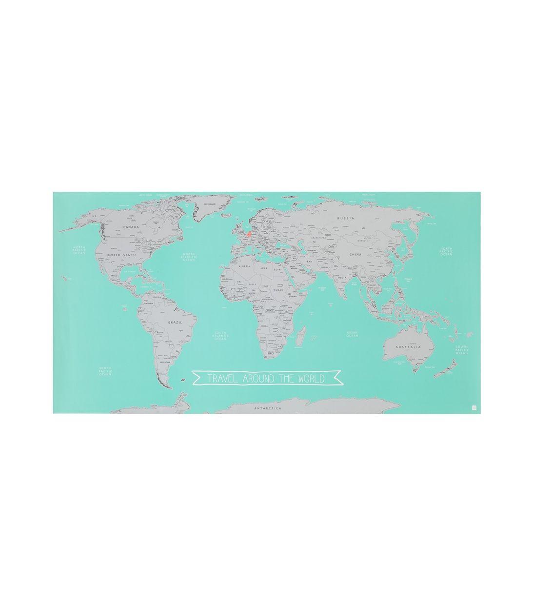 Rubbel-Weltkarte – HEMA