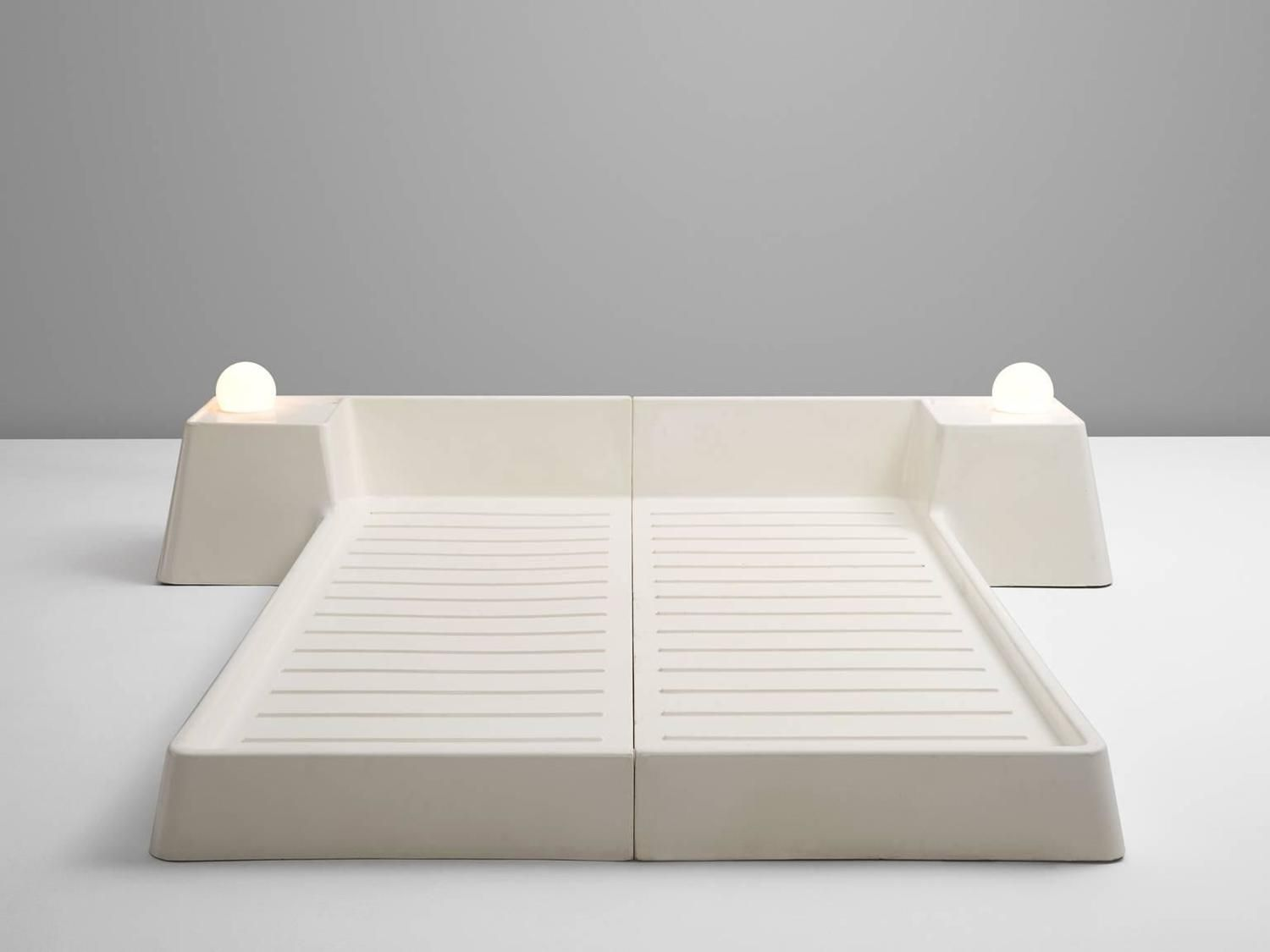 Futuristic Bed Frame by Marc Held for Prisunic | objects | Pinterest ...