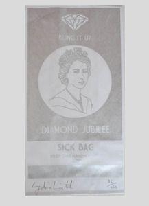 'Bling it up' Jubilee Sick Bag