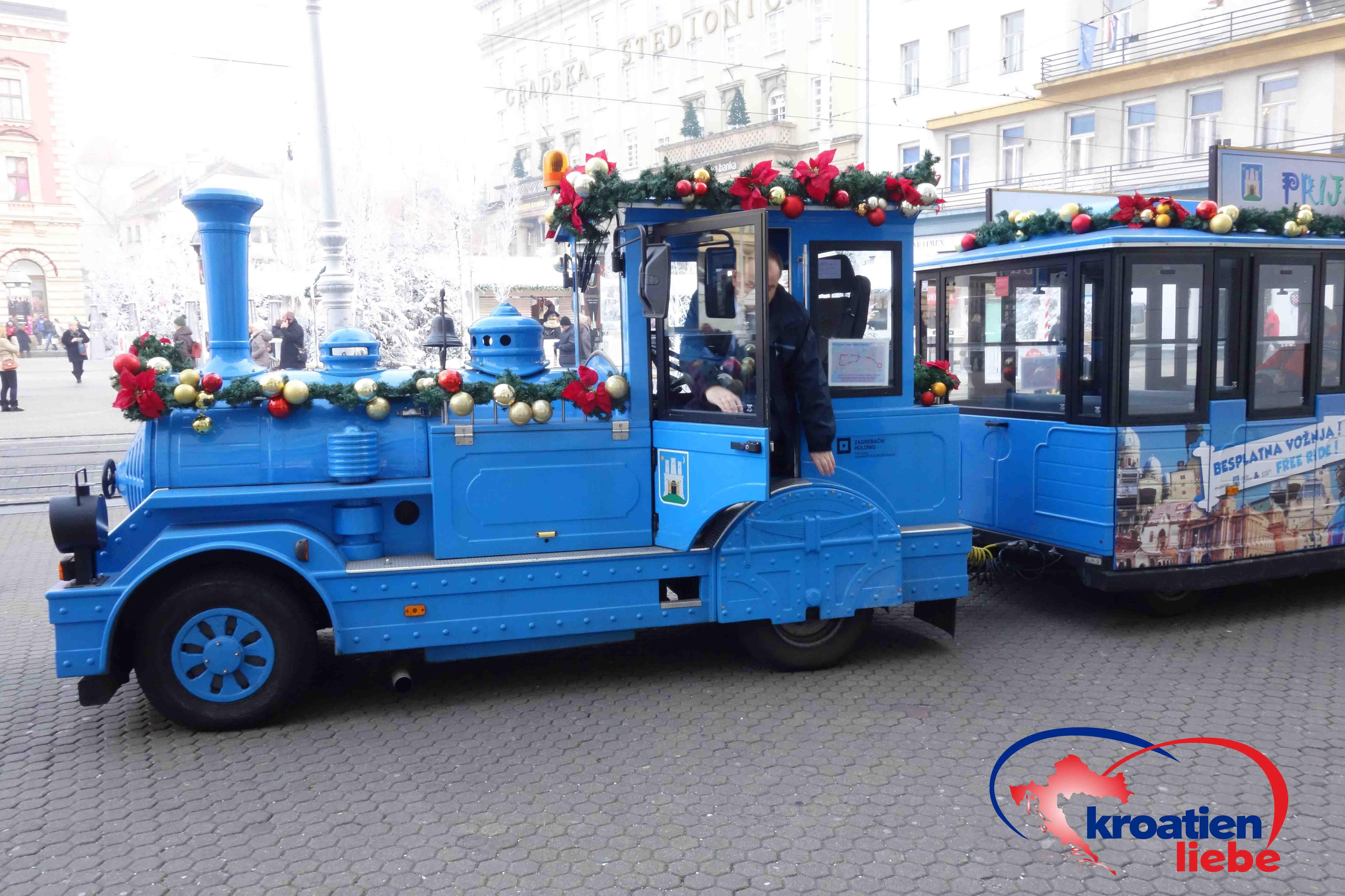 Weihnachtliche Bimmelbahn In Zagreb Kroatien Urlaub Urlaub Buchen Zagreb