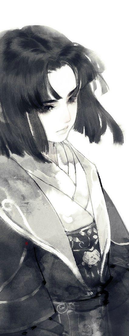 Found this under Ibuki Satsuki tag. Looks so much like Haku from Spirited Away