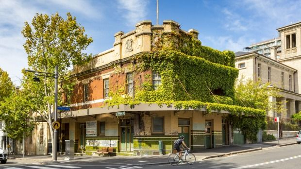 The Terminus Hotel Is A Historic Vacant Property In Sydney S Harbour Side Suburb Of Pyrmont It Being Offered For