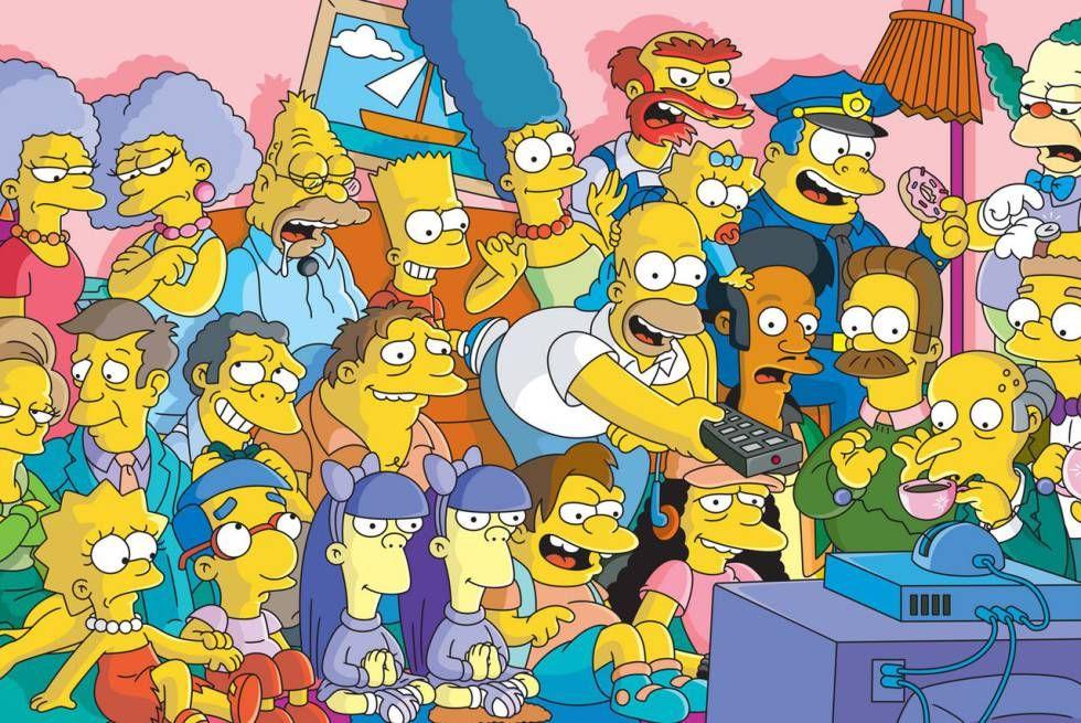 Descargar Los Simpson Todas Las Temporadas 01 Al 30 Español Latino Hd Mega Los Simpson La Familia Simpson Fondos De Los Simpsons