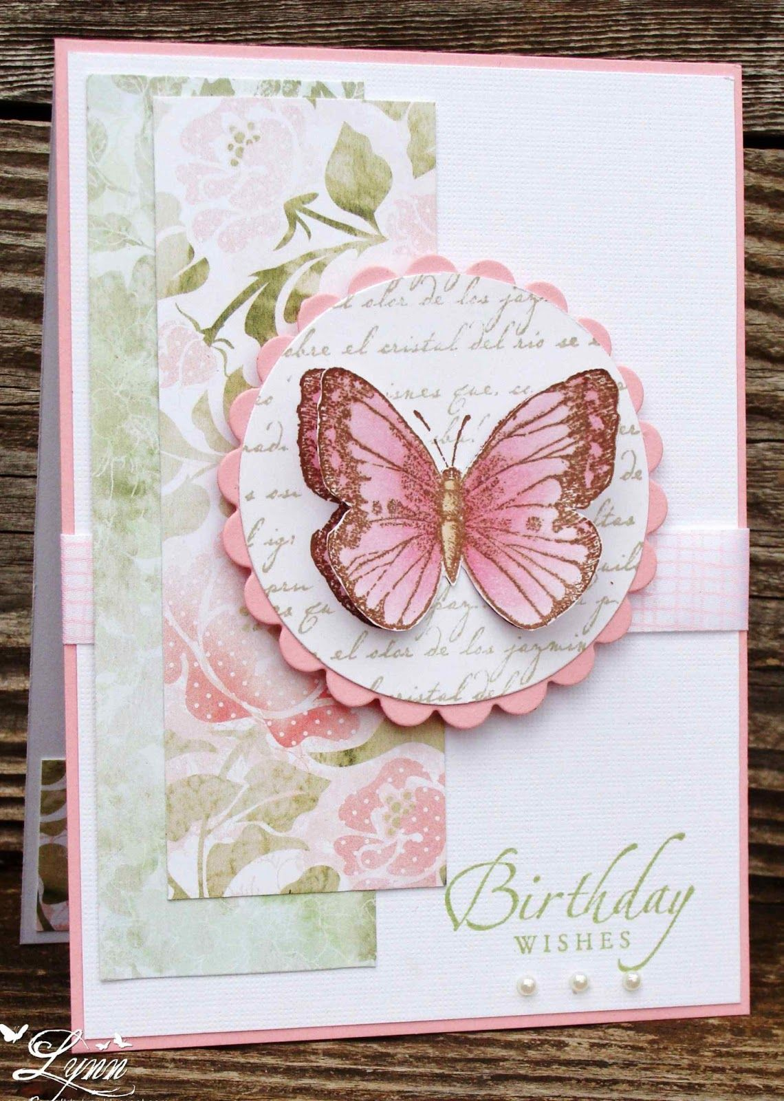 Handmade Birthday Card Ft Colors Simple Design Die Cut