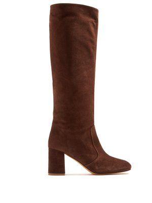 Lune suede knee-high boots Maryam Nassir Zadeh lm4Of
