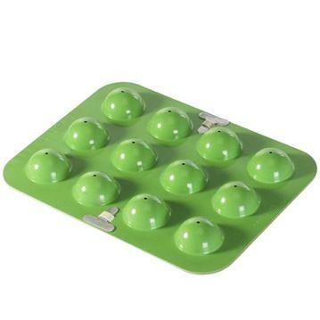 Nordic Ware Kakform - Cake Pops, Grön form med 24st pinnar