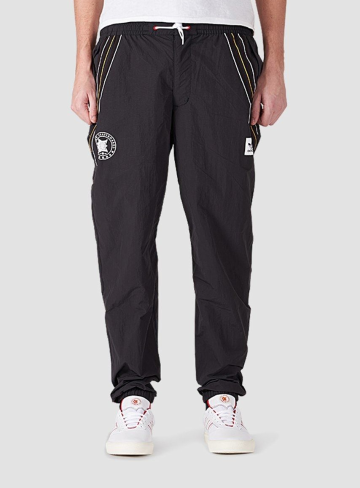 1cf11e8c Details about adidas Evisen Track Pants Black/White/Scarlet/Pyrite ...