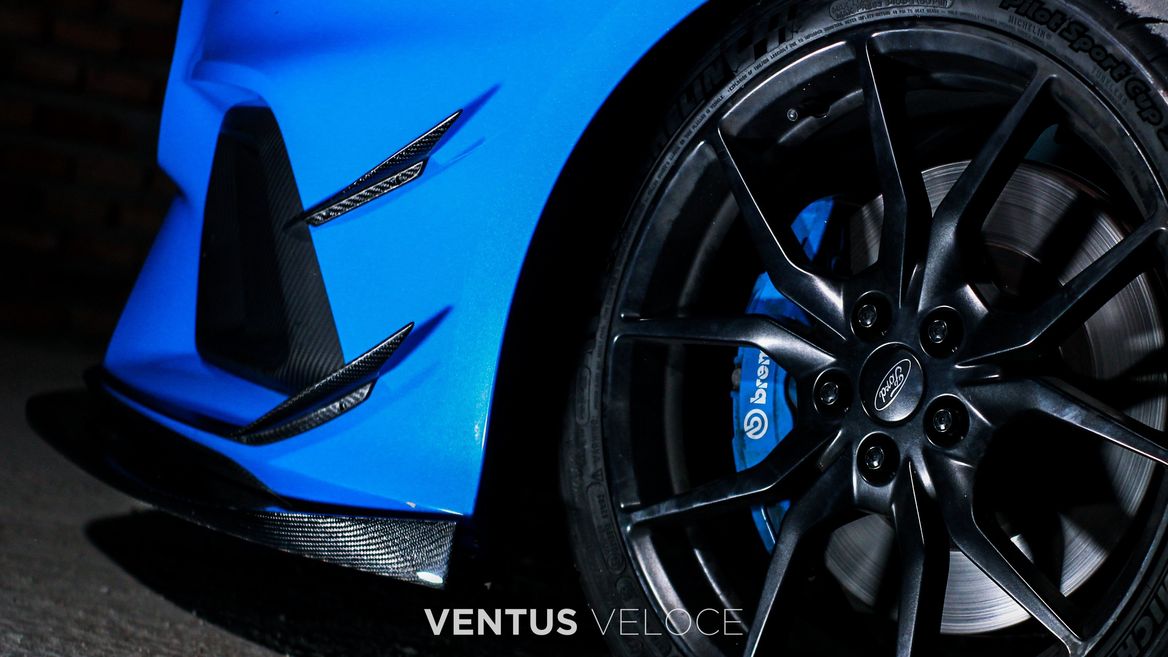 2016 2018 Focus Rs Front Canards Focus Rs Volkswagen Polo