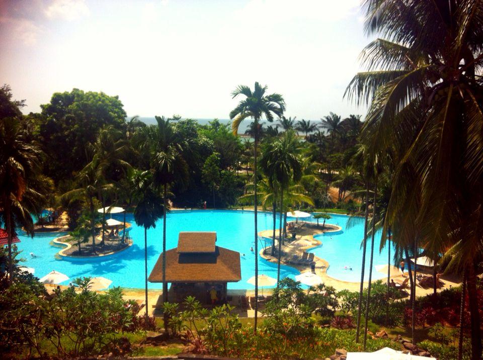 Pool at nirwana garden hotel, Bintan lagoon