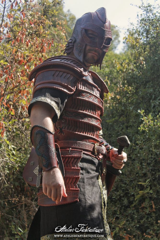 d138c356f Viking cuir leather lamellar armor armure lamellaire celtique larp ...