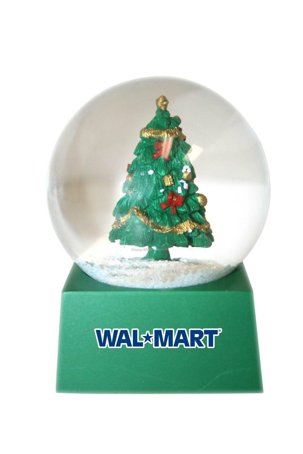 snow globes Stock Christmas Tree Snow Globe Wholesale china