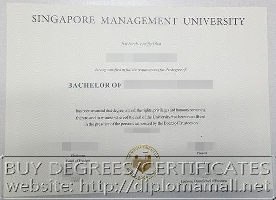 degree from Signapore Management University Singapore Diplomas - sample graduation certificate
