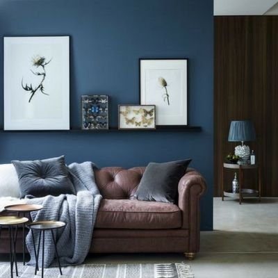 Eviniz Icin Duvar Boyasi Renkleri Ve Kullanim Ornekleri Mavi