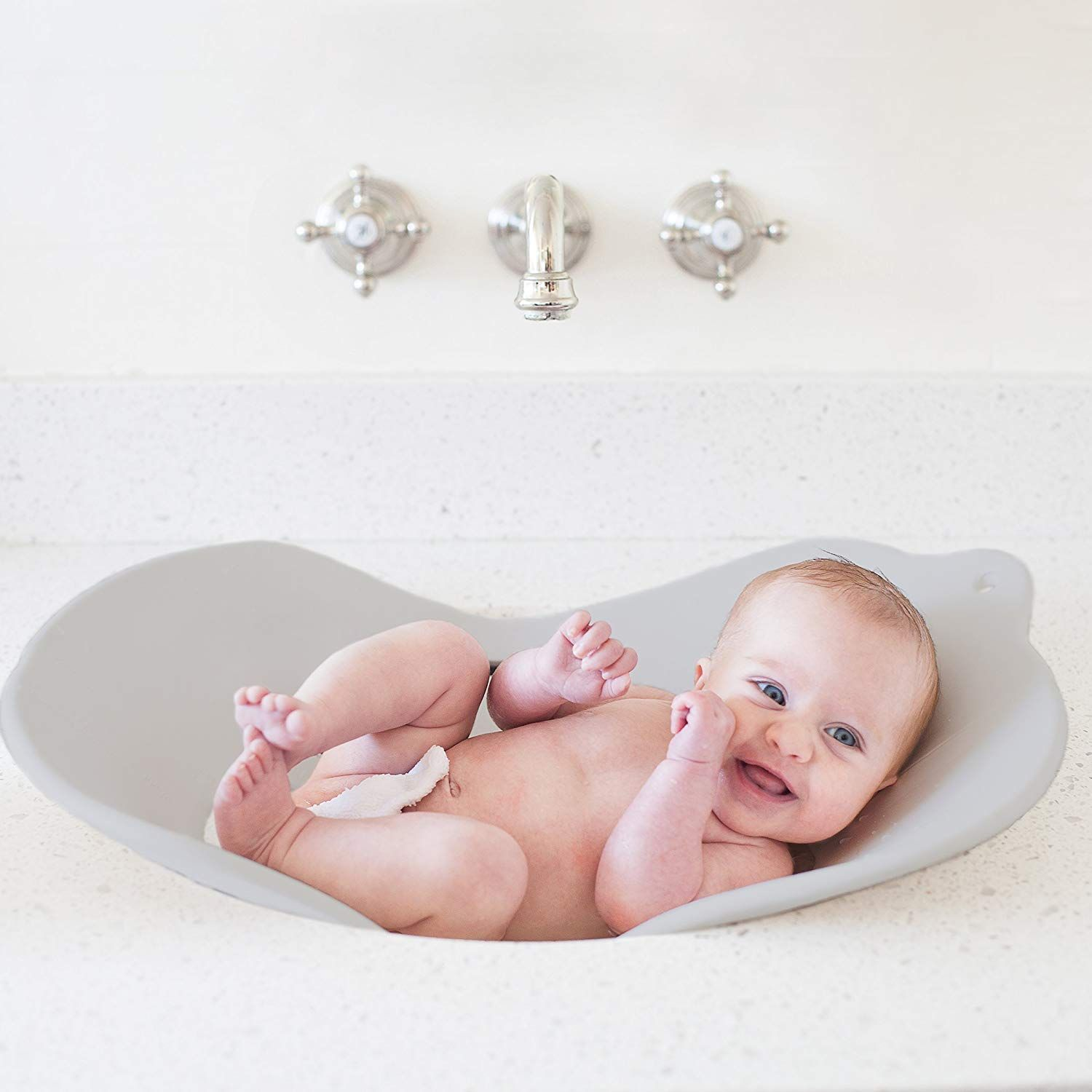 Cradles And Protects Baby During Bath Small Enough To Fit In A
