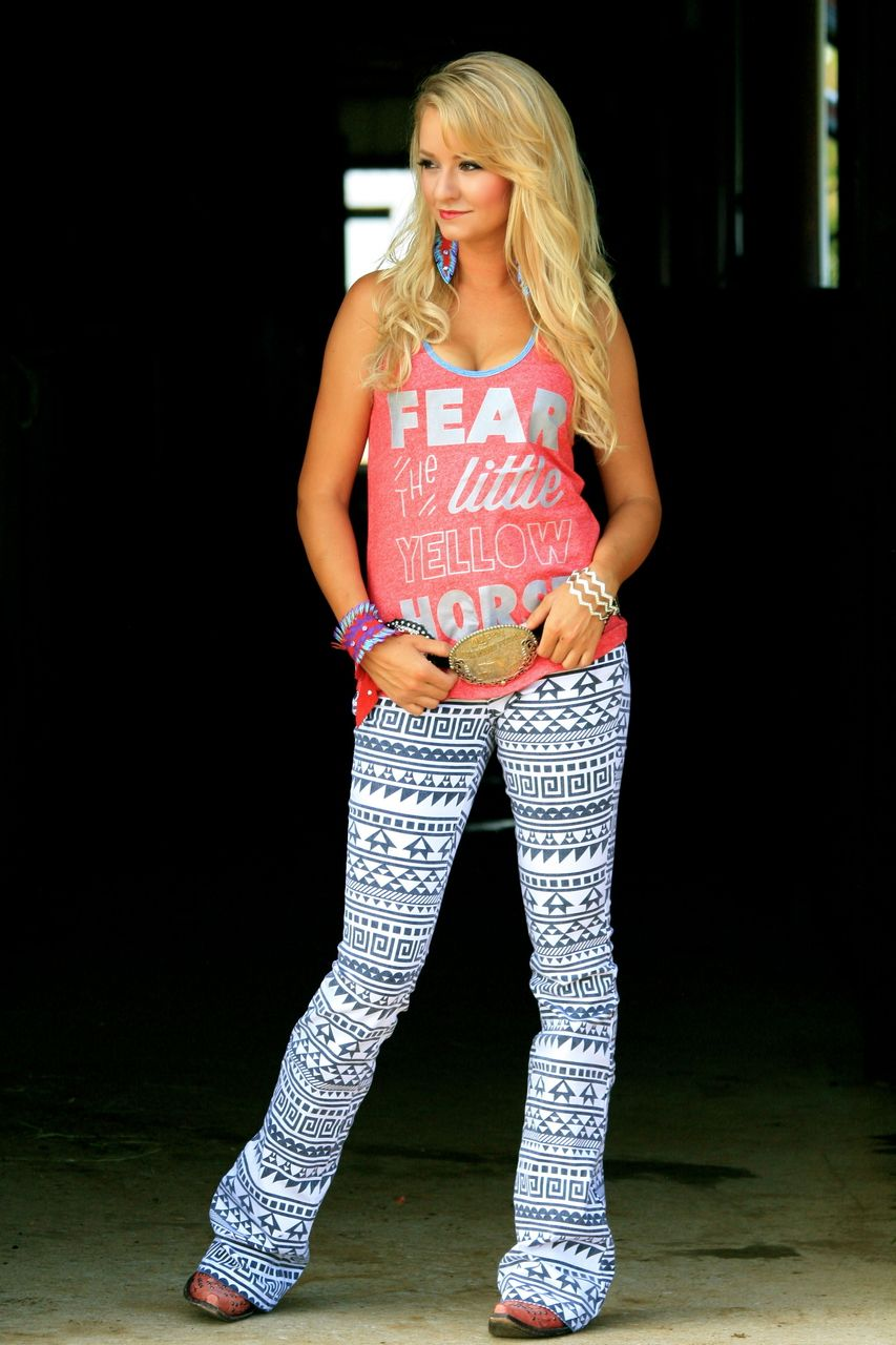 Black Amp White Aztec Jeans Adult Ranch Dress N My