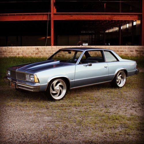 1980 Chevrolet Malibu Blue Chevrolet Malibu Chevy Chevelle