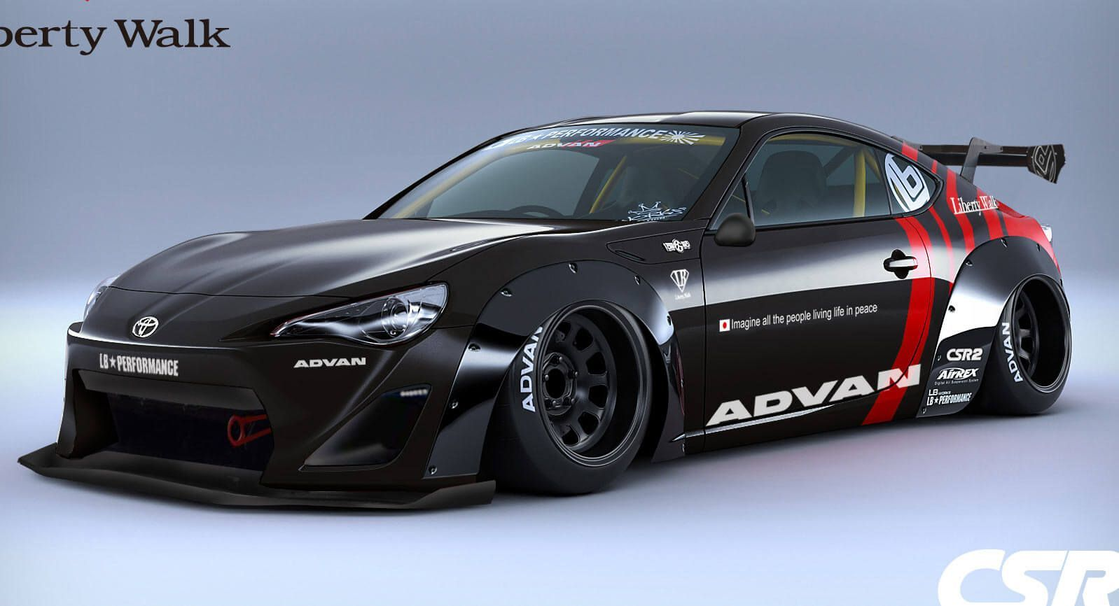 How About A Toyota From Liberty Walk Liberty Walk Toyota - Toyota 86 invoice price
