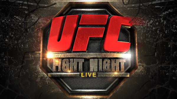 Ufc Fight Night Ufc Fight Night Ufc Night Live