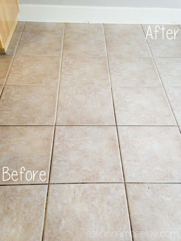 How To Clean Tile Grout Without Chemicals Ask Anna Clean Tile