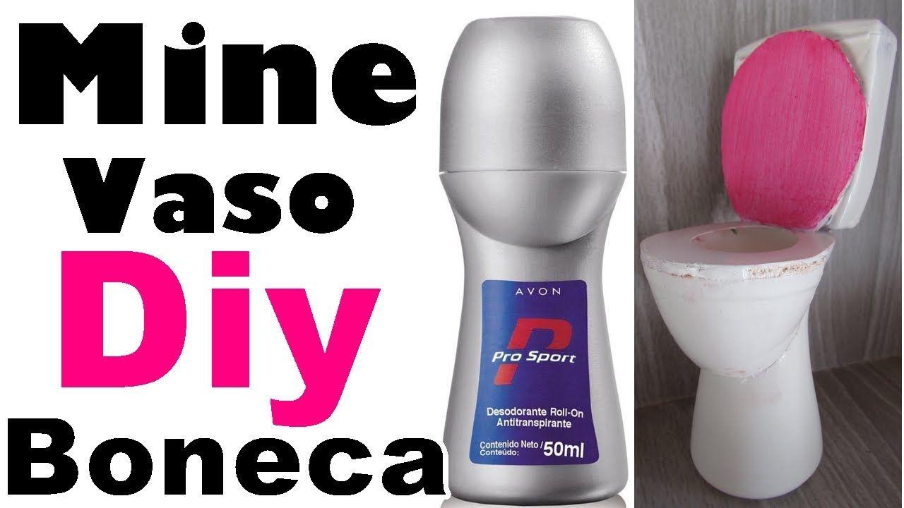 Diy - VASO sanitário de brinquedo