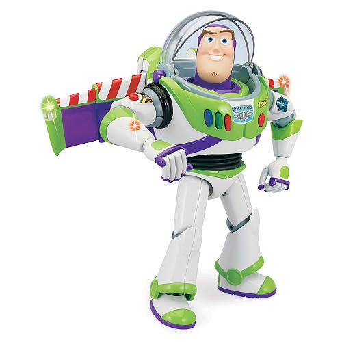 Fresh Toy Story Buzz Lightyear Talking Action Figure Thinkway Toys R Us