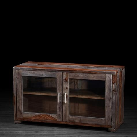 Modern and solid rosewood Sandy television unit | Artemano