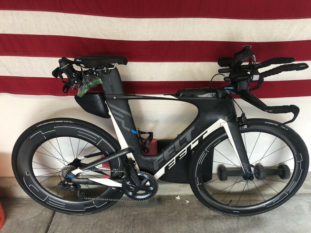 Sponsored Ebay 2017 Felt Ia10 Di2 56cm Carbon Road Bike