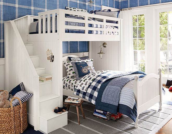 This would be great for the boys room! Pottery Barn Kids Sullivan ...