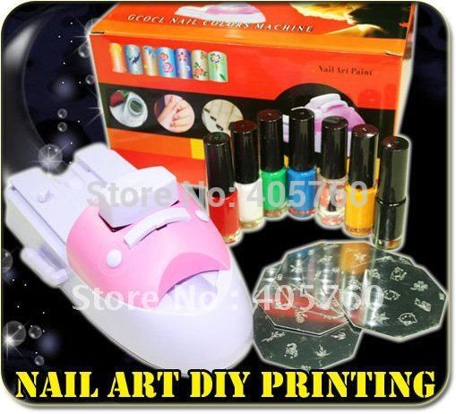 Best Price Nail Art Stamper Colour Printer Printing Stamp Machine