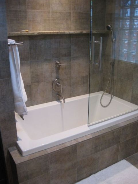 deep tub shower combo