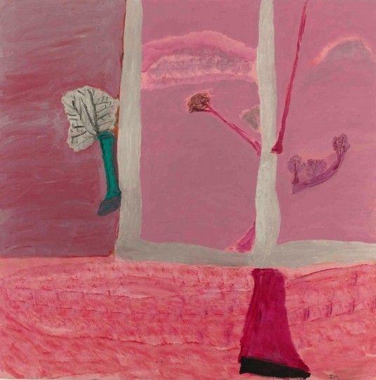 Idris Murphy (Australian, b. 1949), Fork Tree, 2012. Acrylic on board, 190 x 198 cm.