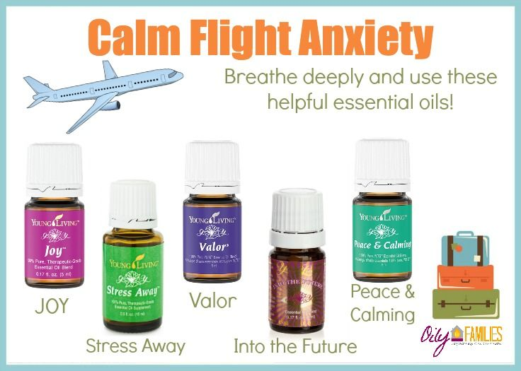 How to Calm Flight Anxiety with Essential Oils | Traveling with Essential Oils 101 https://www.youngliving.org/sdduval