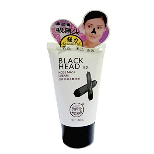 LuckyFine Blackhead Remover Charcoal Nose Paste For Women Deep Cleansing Purifying Peel Acne Face Mask 60g * Want additional info? Click on the image.
