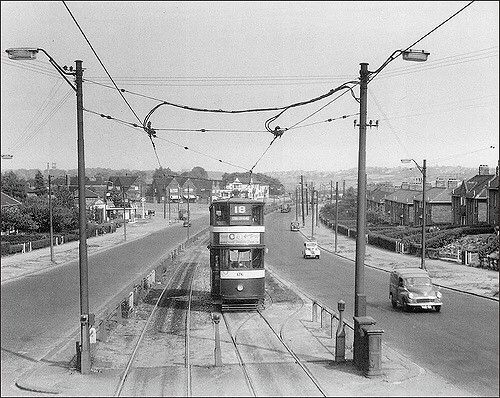 Leeds York Road Tram 1959 Leeds City Leeds England Beeston