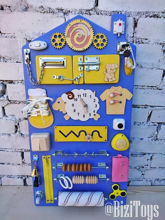 Sensory board Busy board Montessori toy Wooden toy Latch board Educational toddler gift wooden toy