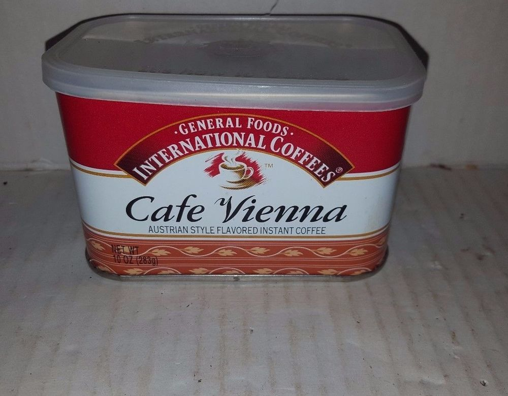 General foods international coffees cafe vienna austrian