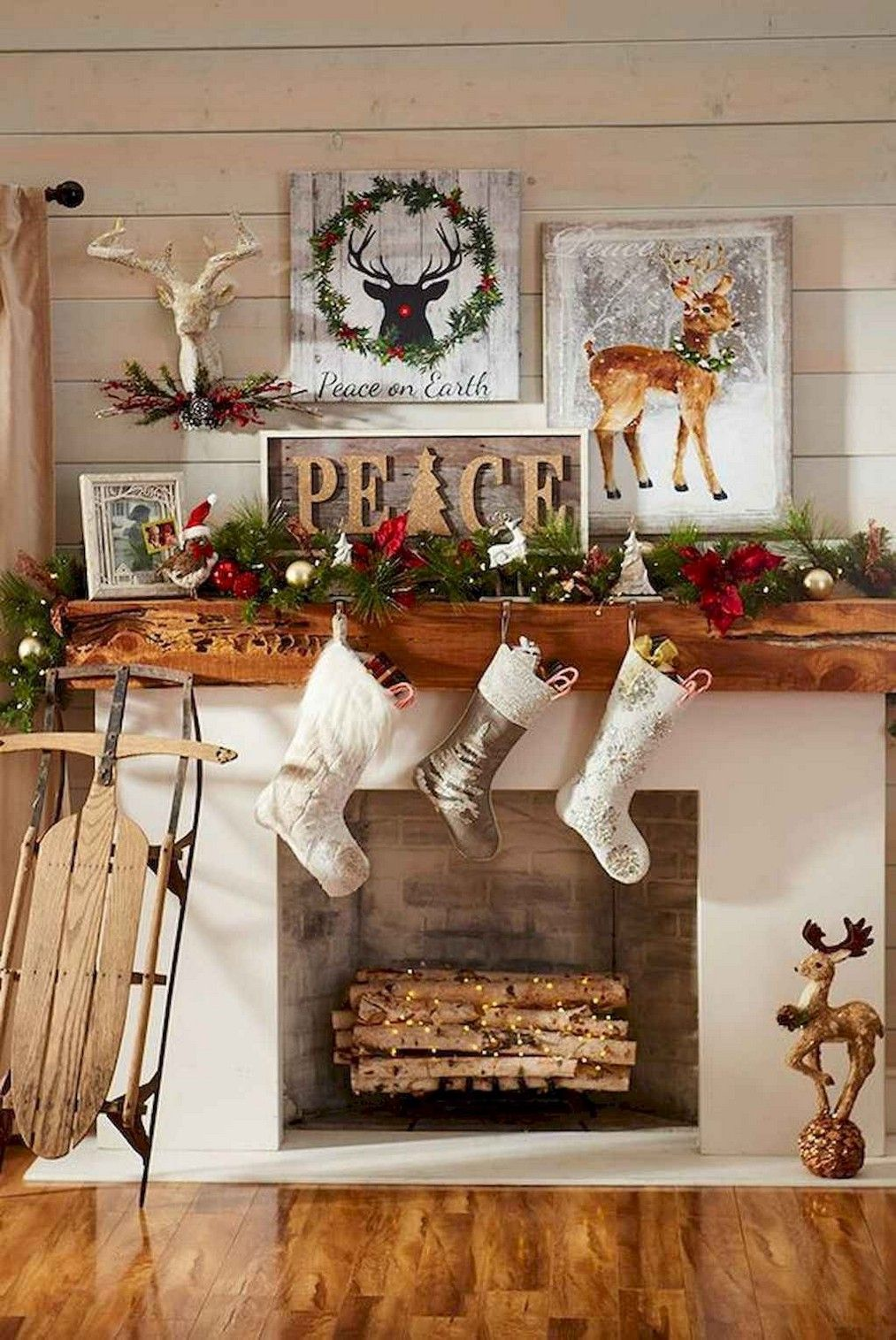 60+ most cozy and elegant christmas living room decoration inspirational ideas - page 30 of 67