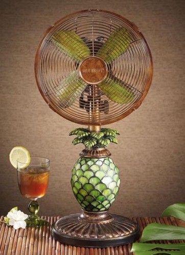 Pineapple Fan Deco Breeze Fan Lamp Deco Breeze Fan
