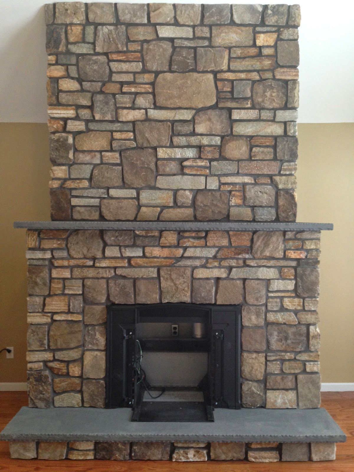 Image Result For Grouting Stone Fireplace Build A Fireplace Reface Fireplace Stone Fireplace