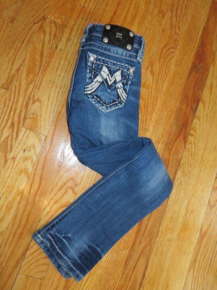 d828281a2 miss me jeans girls size 8 Style No JK11125 Skinny #MissMe #SlimSkinny  #Everyday