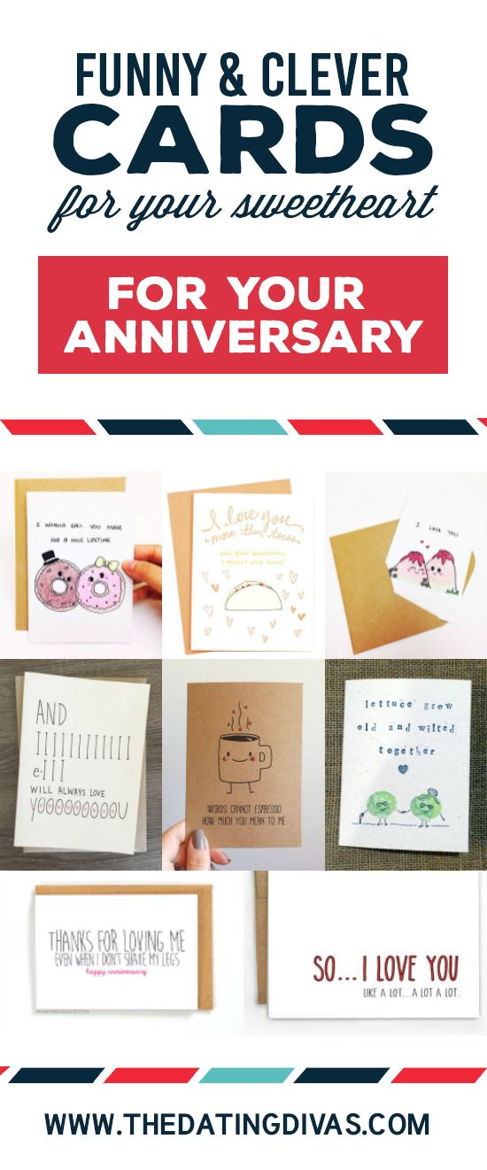 Funny Cards for Your Sweetheart | Anniversary Ideas | Pinterest ...