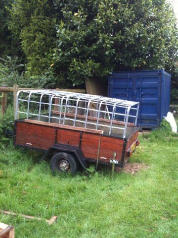 How to make a livestock trailer/ How to make a sheep trailer