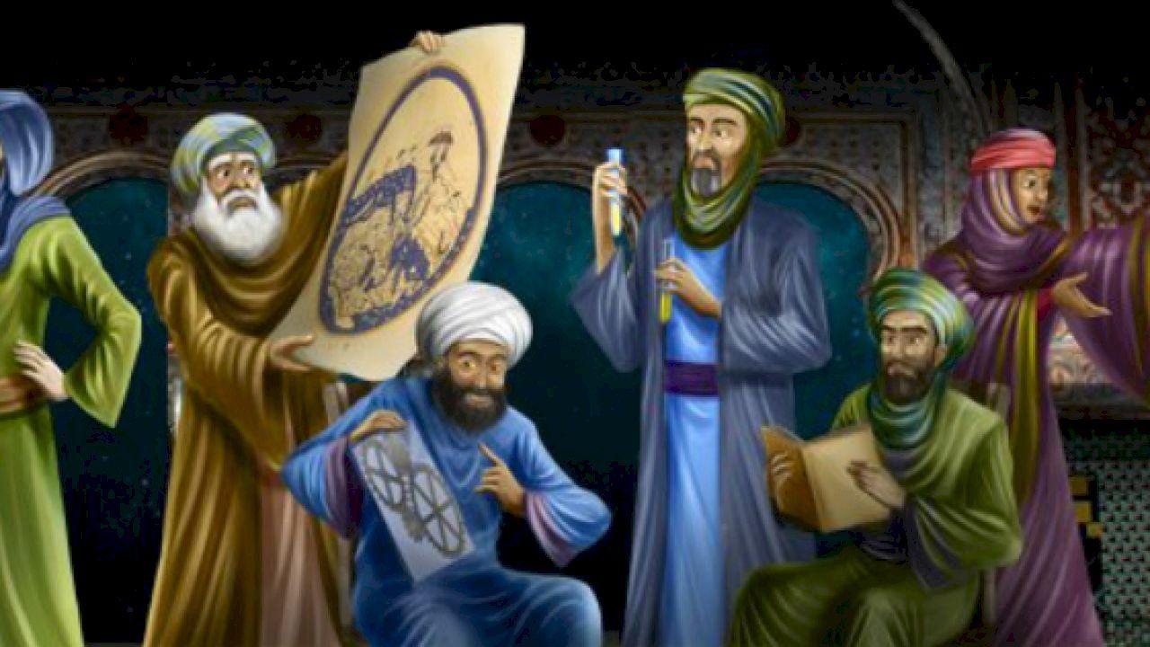 أهم الفلاسفة المسلمين Painting Art History